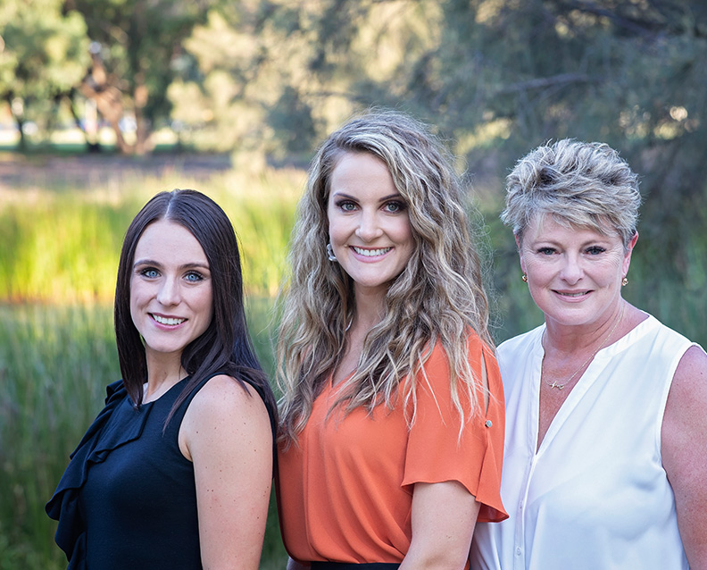 A photo of the Mosaic Settlements team: Settlement Agent Perth